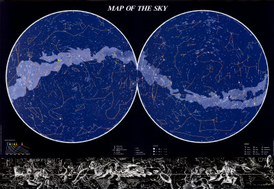 Map of the Sky Poster