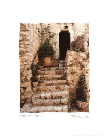 石畳(ミニ, 8x10) アート : モリーン・ラブ