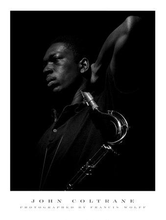 John Coltrane Print by Francis Wolff