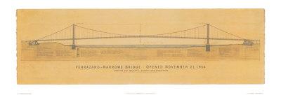 Verrazano Narrows Bridge Print by Craig Holmes