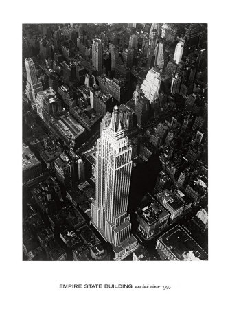 Empire State Building, 1935 Print