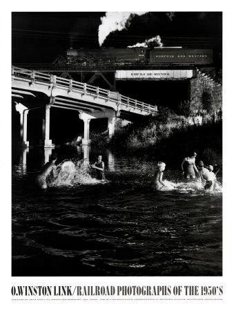 Hawksburg Creek Swimming Hole Prints by O. Winston Link