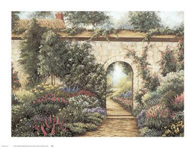 The Garden Gate Posters by Barbara R. Felisky