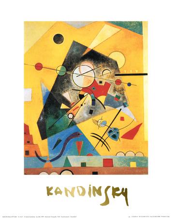 Quiet Harmony Art by Wassily Kandinsky