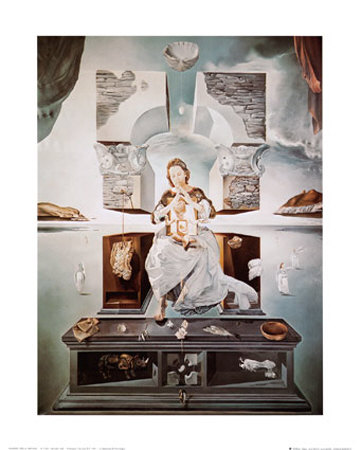 Madonna of Port Lligat Posters by Salvador Dalí