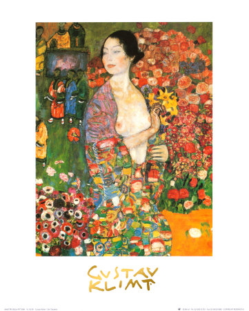 La bailarina Pósters por Gustav Klimt