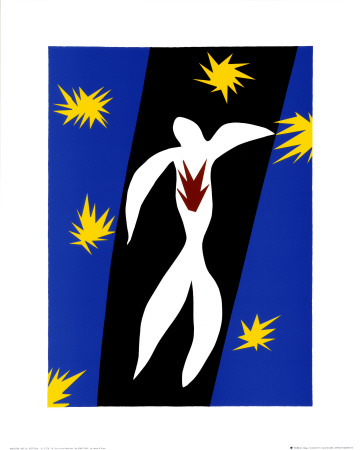 Fall of Icarus Prints by Henri Matisse