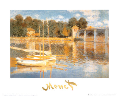 The Bridge at Argenteuil Art Print