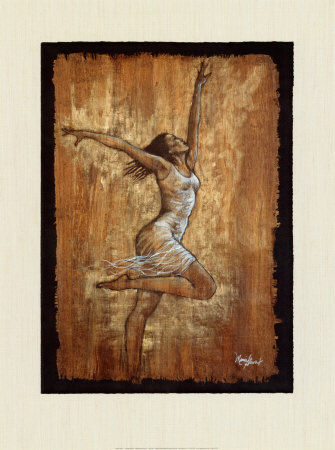 Dance of Joy I Art by Monica Stewart