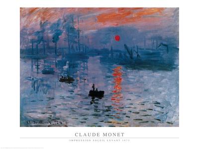 Impression, Sunrise, c.1872 Prints by Claude Monet