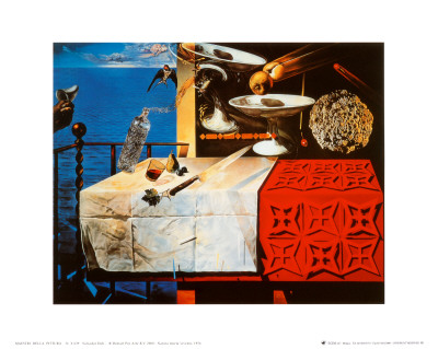 Nature Morte Vivente Prints by Salvador Dalí