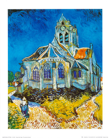 Church at Auvers, c.1894 Reproduction d'art