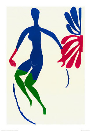 Blue Nude with Green Stockings Poster by Henri Matisse