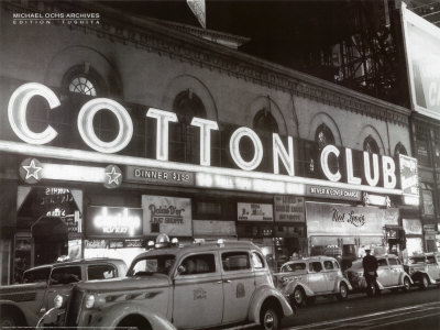Cotton Club Reproduction d'art