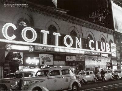Cotton Club Lámina por Michael Ochs