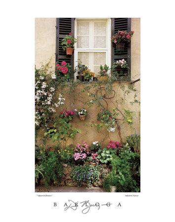 Valbonne Window Print by Dennis Barloga