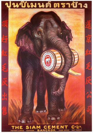 Siam Cement Company Poster by R. Wening