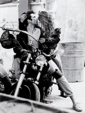 Harley Davidson Posters by Frank Schott