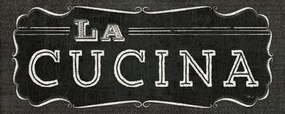 La Cuisine Chalk III Posters by  Pela