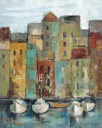 Old Town Port I Kunst af Silvia Vassileva