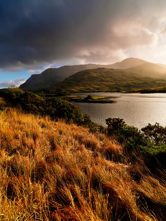 Killary Lough in County Galway in Ireland Fotoprint av Chris Hill