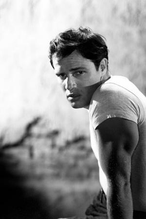 "Marlon Brando. ""A Streetcar Named Desire"" 1951, Directed by Elia Kazan Fotoprint"