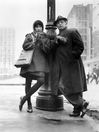 "Robert Mitchum, Shirley Maclaine. ""Two for the Seesaw"" 1962, Directed by Robert Wise Photographic Print"