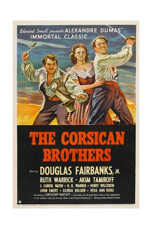 The Corsican Brothers, 1941, Directed by Gregory Ratoff Giclee Print!