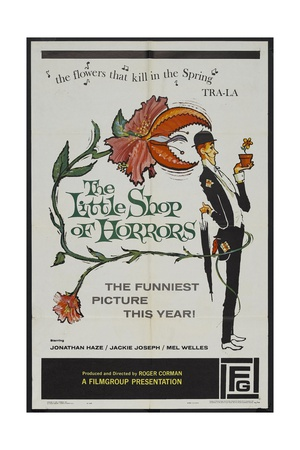 """The Passionate People Eater, 1960 """"The Little Shop of Horrors"""" Directed by Roger Corman Giclee Print"""