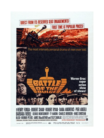 Battle of the Bulge, 1965, Directed by Ken Annakin Giclee Print