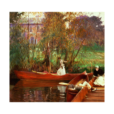 The Boating Party, 1889 Giclee Print by John Singer Sargent