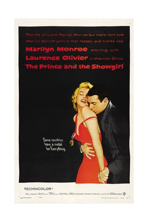 The Sleeping Prince, 1957, The Prince And the Showgirl Directed by Laurence Olivier Giclee Print