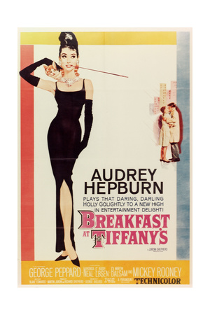 Breakfast at Tiffany's, 1961, Directed by Blake Edwards Gicléetryck