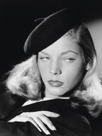 The Big Sleep, Lauren Bacall, Directed by Howard Hawks, 1946 Photographic Print