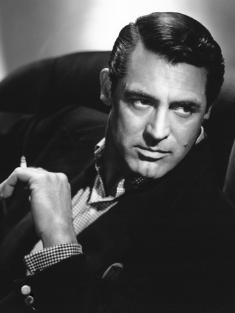 """Cary Grant. """"Notorious"""" 1946, Directed by Alfred Hitchcock Photographic Print"""