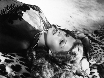 """Rita Hayworth. """"Tuesday's Orchids"""" 1942, """"You Were Never Lovelier"""" Directed by William A. Seiter Photographic Print"""