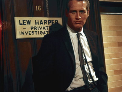 """Paul Newman. """"The Moving Target"""" 1966, """"Harper"""" Directed by Jack Smight Photographic Print"""