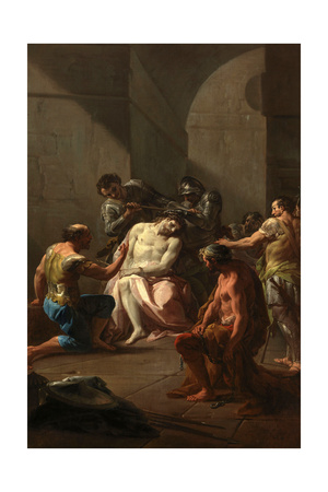 Christ Crowned With Thorns, Ca. 1754, Italian School Giclee Print by Corrado Giaquinto