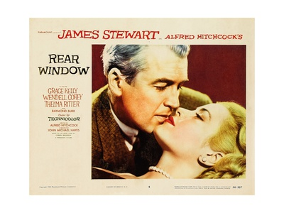 """Alfred Hitchcock's Rear Window, 1954, """"Rear Window"""" Directed by Alfred Hitchcock Giclee Print"""