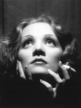 Shanghai Express, Marlene Dietrich, Directed by Josef Von Sternberg, 1933 Fotografisk tryk