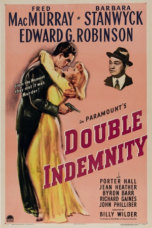 Double Indemnity, 1944, Directed by Billy Wilder ジクレープリント