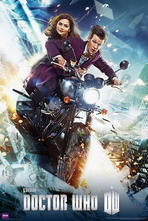 Doctor Who Bike Television Poster Posters