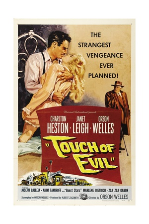 Touch of Evil, 1958, Directed by Orson Welles ジクレープリント