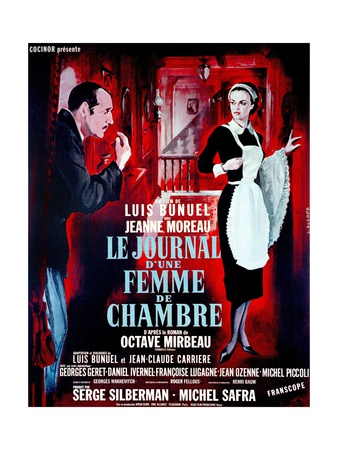 """Diary of a Chambermaid, 1964, """"Le Journal D'une Femme De Chambre"""" Directed by Luis Buñuel Giclee Print"""