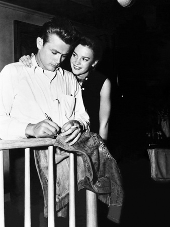 Rebel Without a Cause, Natalie Wood, James Dean, Directed by Nicholas Ray, 1955 Photographic Print
