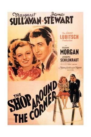 """The Shop Around the Corner"" 1940 Directed by Ernst Lubitsch Giclee Print"