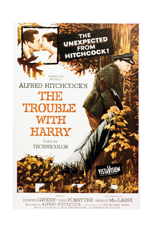 The Trouble With Harry, 1955, Directed by Alfred Hitchcock Giclee Print