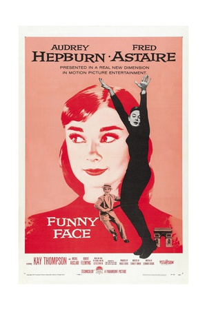 Funny Face, 1957, Directed by Stanley Donen Giclee Print
