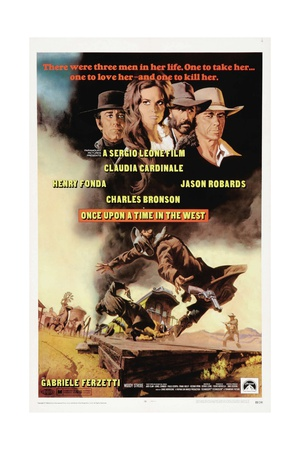 """Once Upon a Time In the West, 1968, """"C'era Una Volta Il West"""" Directed by Sergio Leone Giclee Print"""