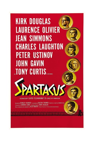 "Spartacus: Rebel Against Rome, 1960, ""Spartacus"" Directed by Stanley Kubrick Giclee Print"